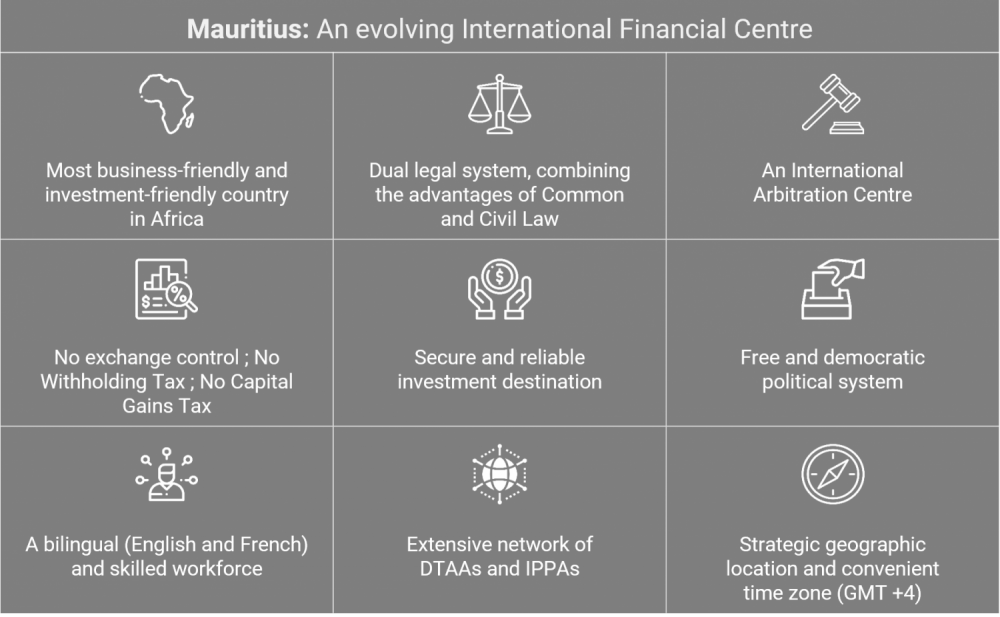 Mauritius.An evolving International Financial Centre - Entrepreneurs! Mauritius will charm you - Sunibel Corporate Services
