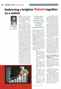 Sunibel Corporate Services in Business Mag - 13 june 2019