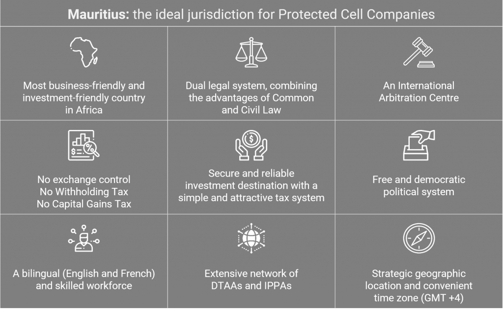 Mauritius - the ideal jurisdiction for Protected Cell Companies