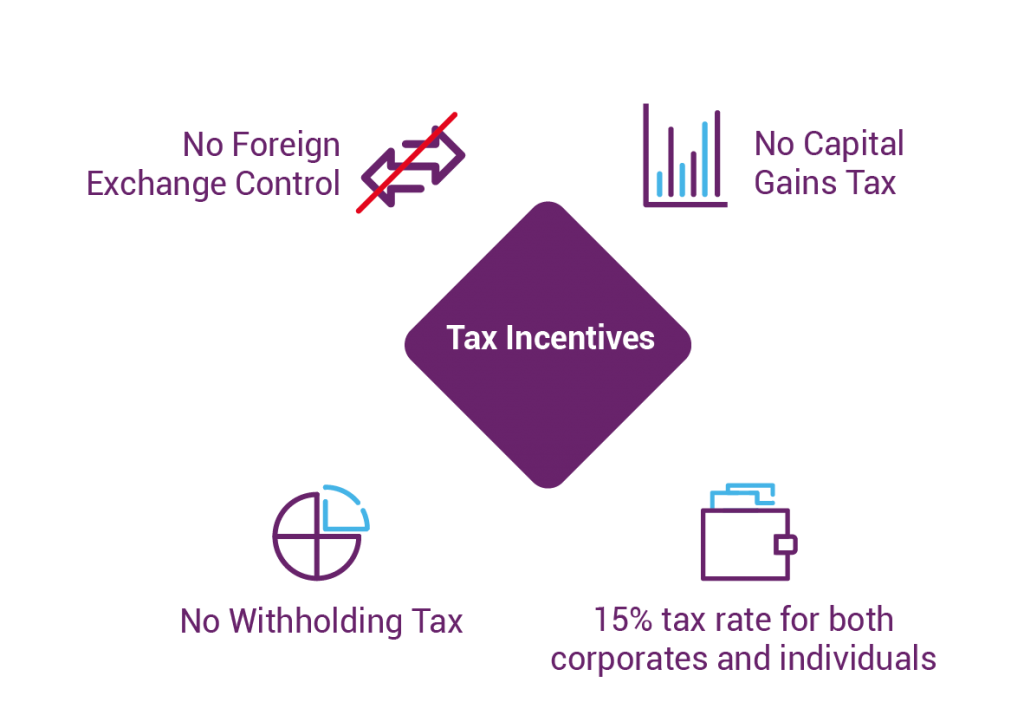 Tax incentives in Mauritius