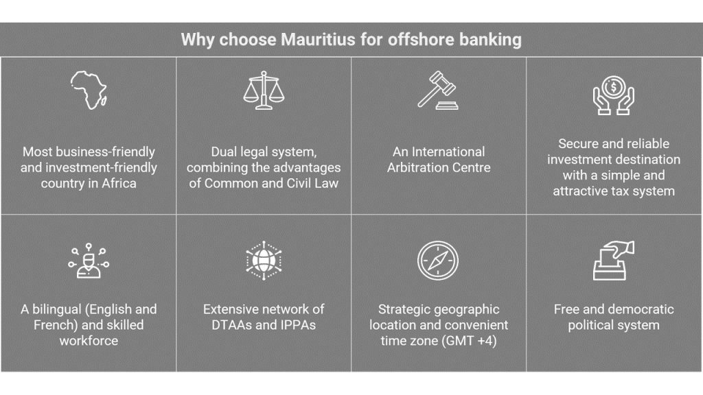 Benefits of offshore banking - why choose Mauritius