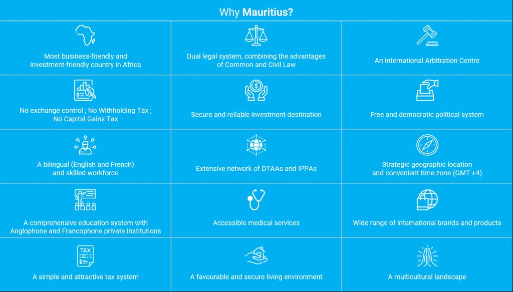 Why Mauritius - Premium Travel Visa & Advantages of company registration in Mauritius